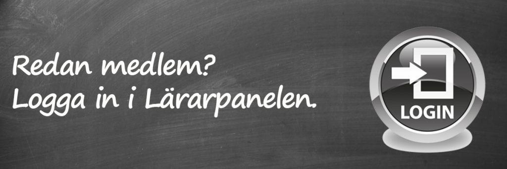 Redan medlem i PFM Research i Sveriges ABs Lärarpanel? Logga in här.